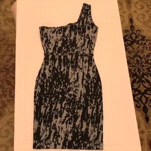 Body Con One shoulder dress